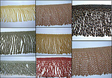 Premium Quality Bullion 10 cm Fringe & Decorative Braid Furnishing Trimming