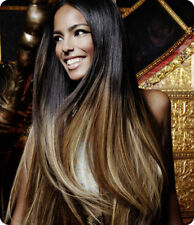 100 % Virgin 5A  Peruvian Ombre 2 Tone hair weft color 1b/30 QUALITY