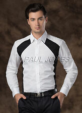 HOT SALE~Mens Dress Shirts SLIM FORMAL Casual COTTON Button Long Sleeve Shirts