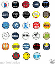 25mm,58mm cool rude naughty funny smart sexy nice badges SELECTION 1