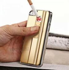 Cool Electronic USB Recharge Cigarette Fire Lighter Case Cover for iPhone 5/5S