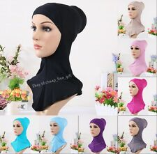 Fashion Cotton Muslim Inner Hijab Caps Islamic Underscarf Hats Ninja Hijab