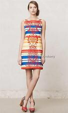 NEW Anthropologie Tabitha Banded Totem Shift  Size 0-2-10-14