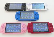 "8GB 4.3"" Video Game MP3 MP4 MP5 Player+FM Radio 0.3MP Camera Recorder+1000 Games"