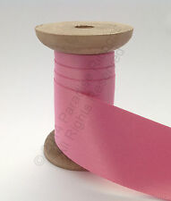 Berisfords Double Satin Ribbon - 52 Hot (Candy) Pink CHOOSE WIDTH & LENGTH