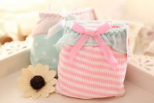 new Wholesale lots 8 PCS Women's Underwear Candy Bow Mix Color Cotton Panties