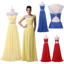 2015 Women Pleated Beads Sexy Banquet Cocktail Party Formal Bridesmaids Dresses
