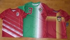 Boys USA MEXICO SPAIN TEAM Soccer Futbol Jersey Shirt Size 10/12 14 18 Girls NWT