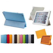 Leather Skin Case Smart Cover Kickstand For Apple The New iPad 2 3 4 Retina 4G