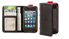 NEW Aduro Folio & Wallet Book Case BookCase for iPhone 4 4s and 5c Vegan Leather