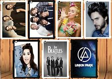 for iPad 2/3/4 hard case cover Demi Lovato-Miley Cyrus-One Direction-The Beatles