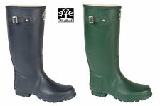 Mens Heavy Duty Rubber Wide Fit Wellies Wellington Boots Sz 9 10 11 12 13 14 15