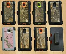 For Samsung Galaxy Note 3 Rugged Heavy Duty Case w/ Build-in Screen + Holster