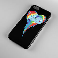 New Heart Of Rainbow Dash For iPhone 5s 5 4S 4 Hard Case Cover