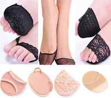 1Pair Lace Antiskid Slip Forefoot High-heeled Shoes Stealth Ottomans Half Mat