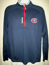 Montreal Canadiens Reebok Embroidered Center Ice PlayDry Fleece Shirt Jacket