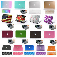 """28color For New Macbook Pro 13"""" 15""""/Rubberized Matt Hard Case keyboard Cover NEW"""