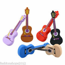 Mini guitar model USB 2.0 memory stick flash pen drive 4G 8G 16G 32G DP448