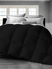 SALE! 3pc Black Goose Down Alternative Comforter, Box Stitched King/Queen/Twin