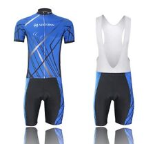 New Outdoor Sports Cycling jerseys breathable quick-dry Bicycle Bib Shorts set