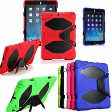 Shockproof Survivor Hybrid Stand Case Cover For iPad Mini/ iPad 2-3-4/Air 5th