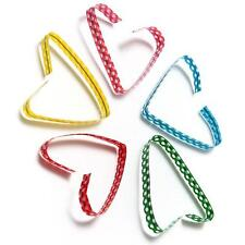 100pcs COLOURED POLKA DOT TWIST TIES for Cookie Cone cello gusset bags 10cm