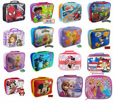 Disney Character, Kids Insulated Lunch Bag Spiderman Frozen, Sofia, + many more