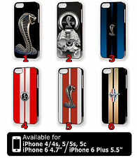 """Ford Mustang Shelby iPhone 4 4s 5 5s 5c iPhone 6 4.7"""" 6 Plus 5.5"""" Case Cover"""