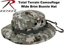 Total Terrain Camouflage Military Police Tactical Bucket Boonie Hat 55839