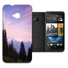 Alps at Sunset Phone Hard Shell Case for HTC One M7 Mini Desire Evo & more