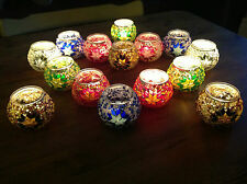 TURKISH LANTERNS / MOSAIC MOROCCAN STYLE TEA LIGHT HOLDER'S - UNIQUE XMAS GIFT