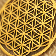 SACRED GEOMETRY Pendants Spiritual Jewellery Flower of Life Brass Ancient Symbol