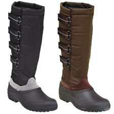 Womens Harry Hall Riding Winter Shoes Jodhpurs Stable Yard Mucker Boots Size 3-8