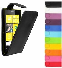 New PU Leather Flip Case Cover Pouch For Model Nokia Lumia Mobile Phones