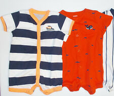 Carter's Infant Boys One Piece Creepers Size 3 Months NWT