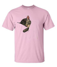 Chessie the Sleeping Kitten Authentic Railroad T-Shirt in Pink [20019p]
