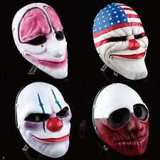 New Resin Mask Halloween Heist Joker Costume Payday 2 Prop Gift cool mask