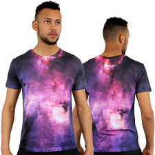 Galaxy 3D Print Fitted T-Shirt Urban life By Monkey Business