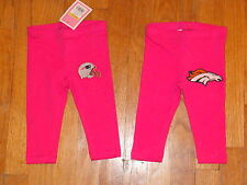 NFL Toddler Girl Hot Pink Cute Leggings Pants YOU CHOOSE team & size NEW custom