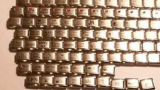 HUGE WHOLESALE HOT SELLING ITALIAN STAINLESS STEEL 9 MM CHARMS YOU CHOOSE