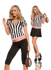 Sexy  5PC Sideline Sweetheart Football  Women's Halloween Party Costume. S,M,L.