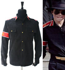 Rare MJ Michael Jackson Black CTE Corduroy Outwear Shirt Jacket