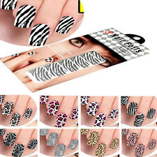 US Nail Art Foils Stickers Decoration Patch Armour Manicure For Free Ship
