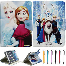 For 7 Inch tablet PC Universal Disney Cartoon frozen PU Leather Stand Cover Case