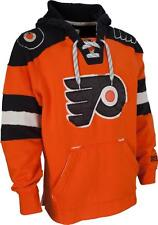 Philadelphia Flyers MENS CCM Vintage Sweatshirt Pullover Hoody Orange