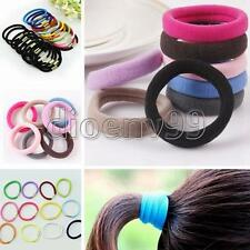 10/20pcs Multi-Color Women Elastic Rope Ring Hair Band Tied Ponytail Holder Hot