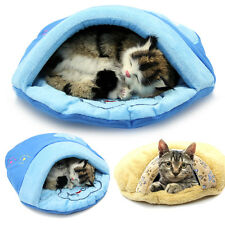 Dog Cat Soft Fleece Warm Cotton Pet Nest Sleeping Bag Embroidered Slippers Nest