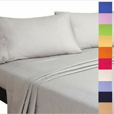 Soft 100% Cotton All Size Quilt Cover Sheet Set Flat,Fitted,Pillowcases