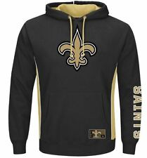 New Orleans Saints MENS Sweatshirt Pullover Hoodie Passing Game by Majestic