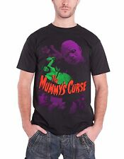 Plan 9 The Mummy's Curse Official Mens New Black T Shirt